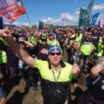 MARITIME UNION PROTEST MELBOURNE